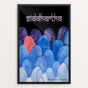 "Siddhartha by Olivia Stinson 12"" by 18"" Print / Framed Print Recovering the Classics"