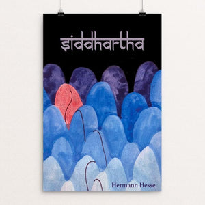 "Siddhartha by Olivia Stinson 12"" by 18"" Print / Unframed Print Recovering the Classics"