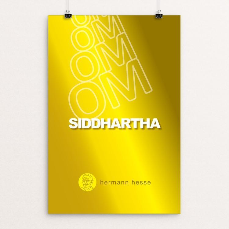 "Siddhartha by Robert Wallman 12"" by 18"" Print / Unframed Print Recovering the Classics"