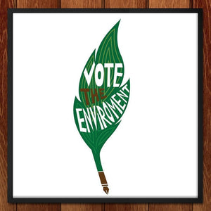 Sign on, Vote the Environment by Miriam Subbiah