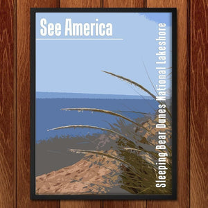 "Sleeping Bear Dunes National Lakeshore by Katie 12"" by 16"" Print / Framed Print See America"