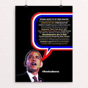 "So Much To Do, So Little Time. by BOB RUBIN 12"" by 16"" Print / Unframed Print Design For Obama"