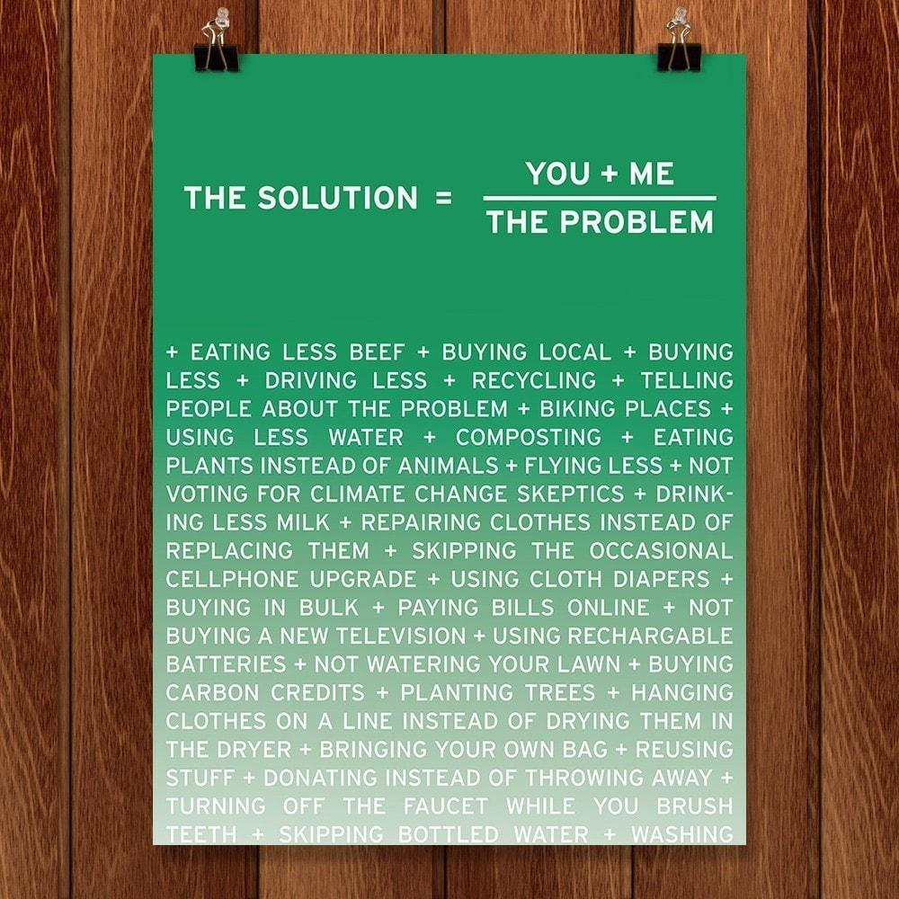 Solution, third in a series for three from New Math by Craig Damrauer