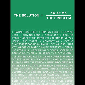 "Solution, third in a series for three from New Math by Craig Damrauer 12"" by 16"" Print / Unframed Print Green Patriot Posters"