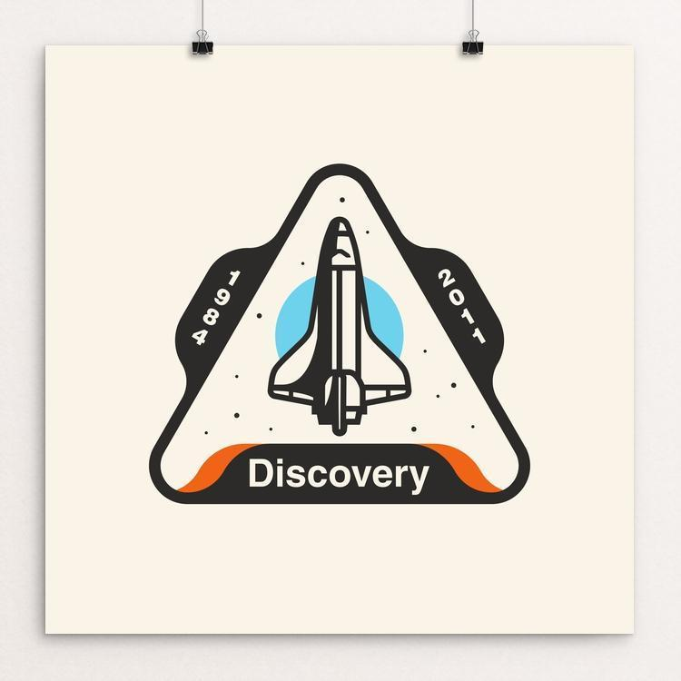 Space Shuttle Discovery by Austin Remer