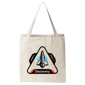 Space Shuttle Discovery Tote Bag by Austin Remer Tote Bag Space Horizons