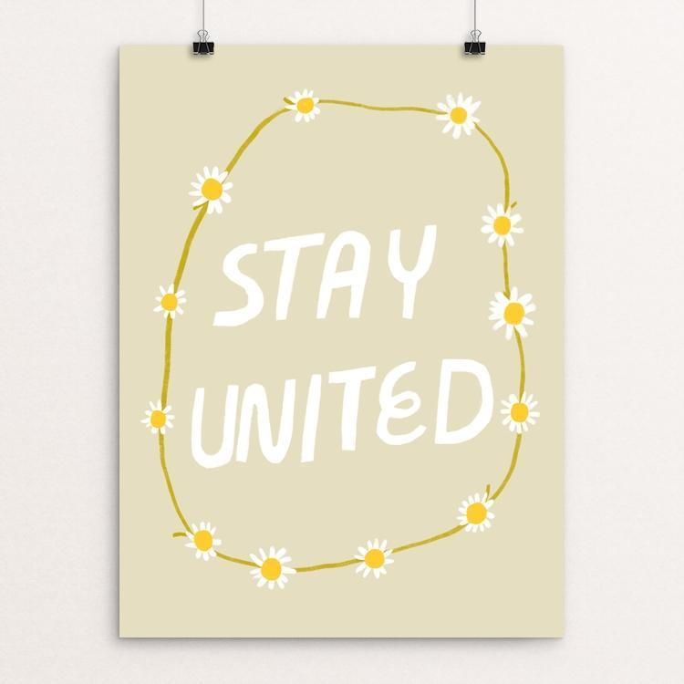 "Stay United by Gillian Dreher 12"" by 16"" Print / Unframed Print Creative Action Network"