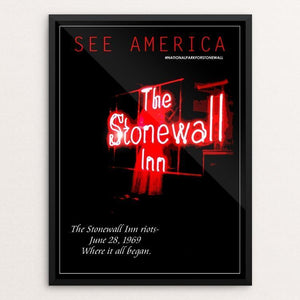 "Stonewall National Monument by Bob Rubin 12"" by 16"" Print / Framed Print See America"