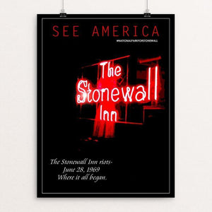 "Stonewall National Monument by Bob Rubin 12"" by 16"" Print / Unframed Print See America"