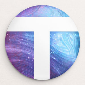 T for Vote Button by Adam S. Doyle Single Buttons Vote!