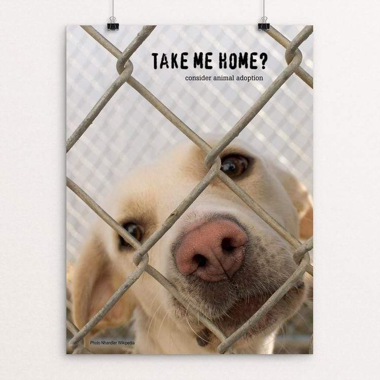 "Take Me Home? by Vivian Chang 18"" by 24"" Print / Unframed Print Creative Action Network"