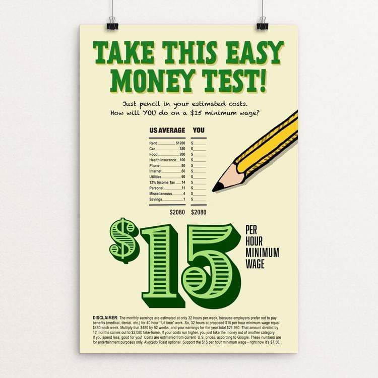 TAKE THIS EASY MONEY TEST by Vivian Chang