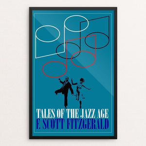 "Tales of the Jazz Age by Bob Rubin 12"" by 18"" Print / Framed Print Recovering the Classics"