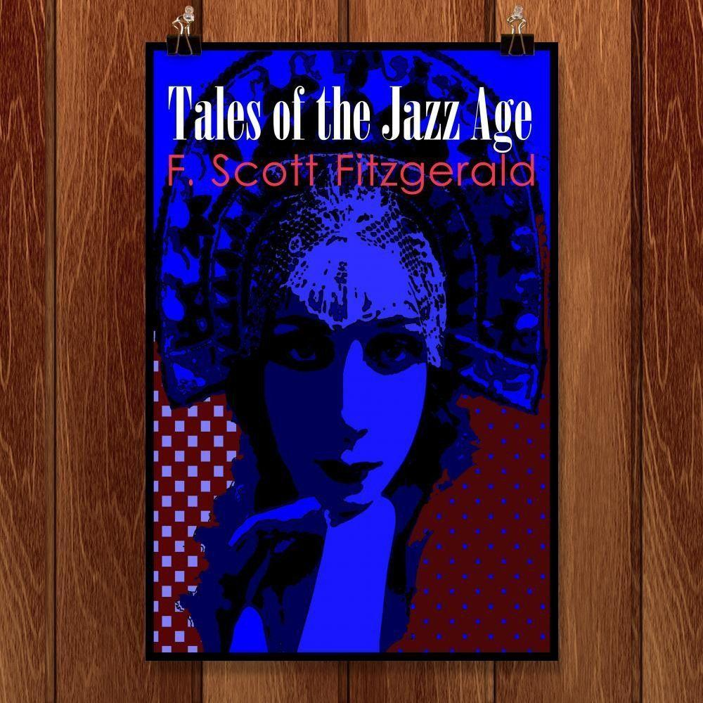 "Tales of the Jazz Age by Bob Rubin 12"" by 18"" Print / Unframed Print Recovering the Classics"