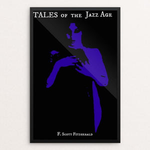 "Tales of the Jazz Age by Claudia Corletto 12"" by 18"" Print / Framed Print Recovering the Classics"