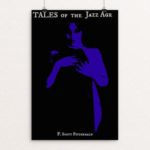 "Tales of the Jazz Age by Claudia Corletto 12"" by 18"" Print / Unframed Print Recovering the Classics"