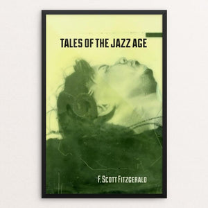 "Tales of the Jazz Age by Eben Haines 12"" by 18"" Print / Framed Print Recovering the Classics"