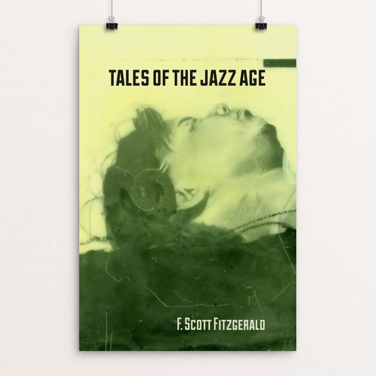 "Tales of the Jazz Age by Eben Haines 12"" by 18"" Print / Unframed Print Recovering the Classics"