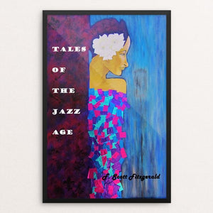 "Tales of the Jazz Age by Ramona Mayer 12"" by 18"" Print / Framed Print Recovering the Classics"