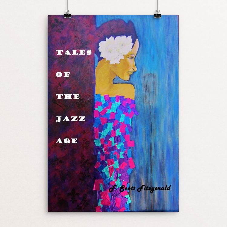 "Tales of the Jazz Age by Ramona Mayer 12"" by 18"" Print / Unframed Print Recovering the Classics"