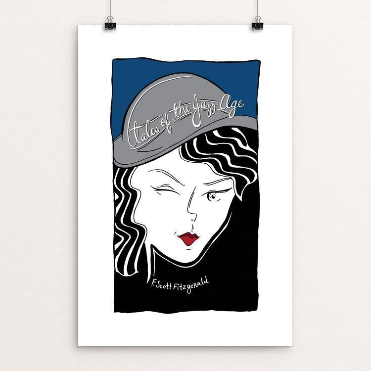 "Tales of The Jazz Age by Shae Synnestvedt 12"" by 18"" Print / Unframed Print Recovering the Classics"