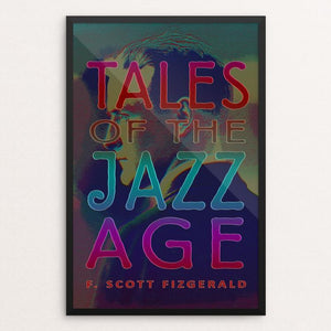 "Tales of the Jazz Age by Vivian Chang 12"" by 18"" Print / Framed Print Recovering the Classics"