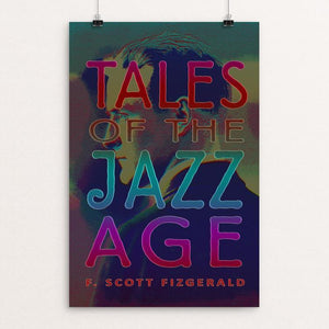 "Tales of the Jazz Age by Vivian Chang 12"" by 18"" Print / Unframed Print Recovering the Classics"