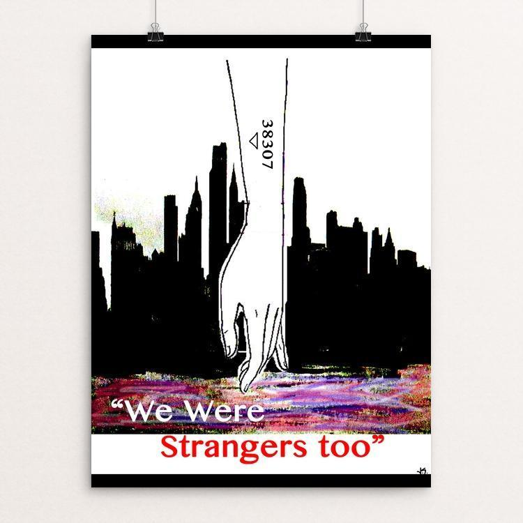 "Tattooed by Joshua Sierra 12"" by 16"" Print / Unframed Print We Were Strangers Too"