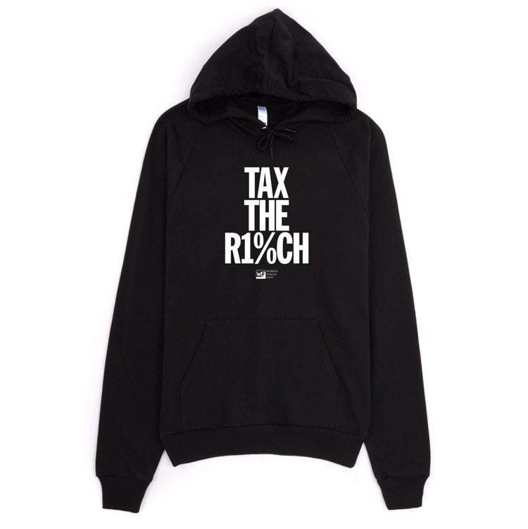 Tax The Rich 2 Hoodie By Mr Furious Creative Action Network