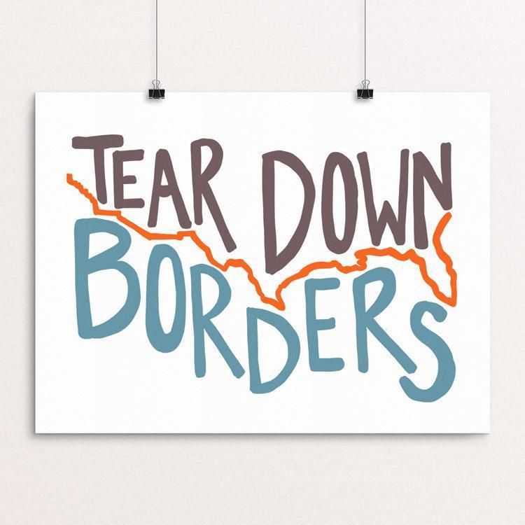 Tear Down Borders by Shannon Anderson