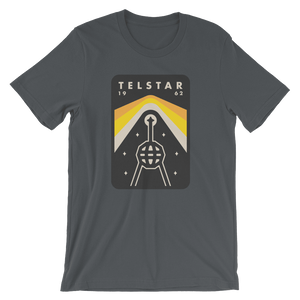 Telstar Men's T-Shirt by Peter Komierowski Asphalt / XS T-Shirt Space Horizons
