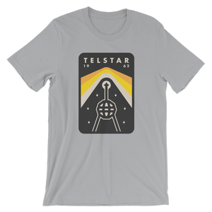Telstar Men's T-Shirt by Peter Komierowski Silver / XS T-Shirt Space Horizons
