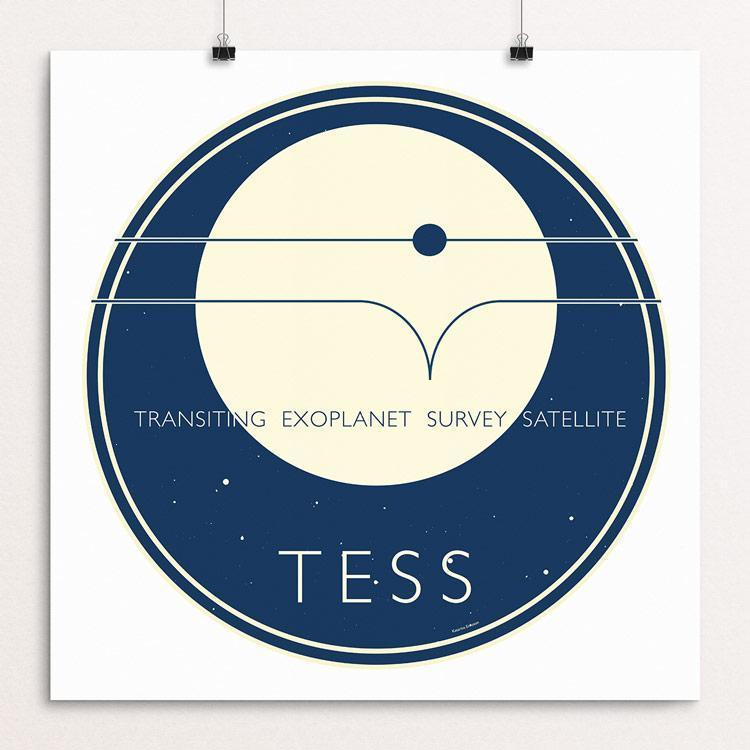 TESS - NASA's Transiting Exoplanet Survey Satellite by Katarina Eriksson