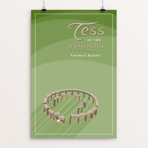 "Tess of the D'Urbervilles by Karl Orozco 12"" by 18"" Print / Unframed Print Recovering the Classics"