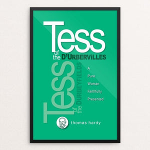"Tess of the D'Urbervilles by Robert Wallman 12"" by 18"" Print / Framed Print Recovering the Classics"