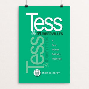 "Tess of the D'Urbervilles by Robert Wallman 12"" by 18"" Print / Unframed Print Recovering the Classics"
