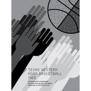 Texas Western, NCAA Basketball, 1966 by Jon Briggs