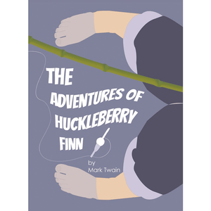 The Adventures of Huckleberry Finn Sticker by E. Michelle Peterson 3x4 inch / 1 Pack Stickers Recovering the Classics