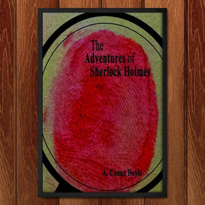 "The Adventures of Sherlock Holmes 2 by Becky Gasper 12"" by 18"" Print / Framed Print Recovering the Classics"