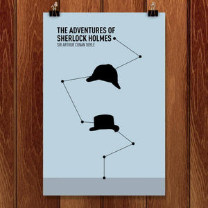 "The Adventures of Sherlock Holmes by Alex Morris 12"" by 18"" Print / Unframed Print Recovering the Classics"