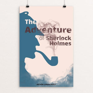 "The Adventures of Sherlock Holmes by Paula Kong 12"" by 18"" Print / Unframed Print Recovering the Classics"