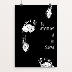 "The Adventures of Tom Sawyer by Britany McCarty 12"" by 18"" Print / Unframed Print Recovering the Classics"