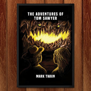 "The Adventures of Tom Sawyer by Devin Papp 12"" by 18"" Print / Framed Print Recovering the Classics"
