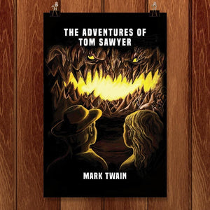 "The Adventures of Tom Sawyer by Devin Papp 12"" by 18"" Print / Unframed Print Recovering the Classics"