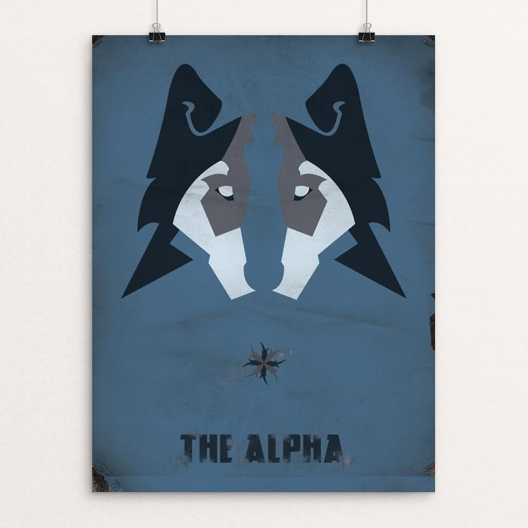 "The Alpha by Eric Steinert 12"" by 16"" Print / Unframed Print Join the Pack"