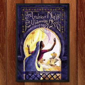 "The Arabian Nights by Crystal Galloway 12"" by 18"" Print / Framed Print Recovering the Classics"
