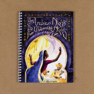 The Arabian Nights Spiral Notebook by Crystal Galloway