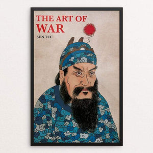 "The Art of War by Giacomo Zecchi 12"" by 18"" Print / Framed Print Recovering the Classics"