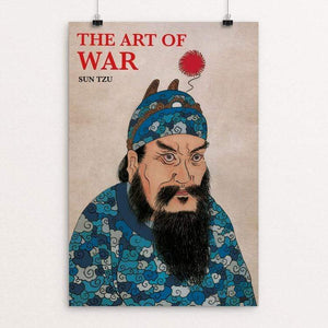 "The Art of War by Giacomo Zecchi 12"" by 18"" Print / Unframed Print Recovering the Classics"
