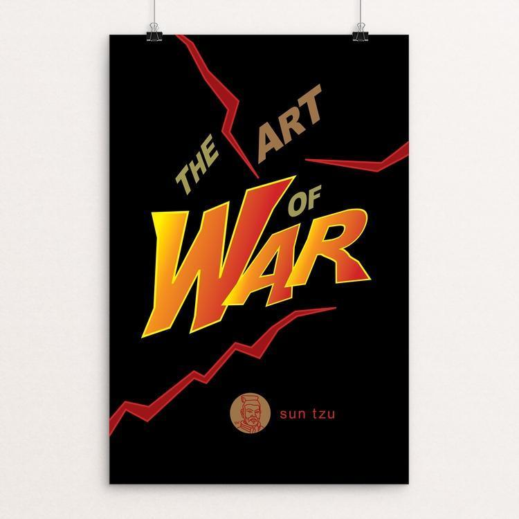 "The Art of War by Robert Wallman 12"" by 18"" Print / Unframed Print Recovering the Classics"